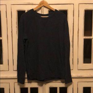 Reversible Lululemon Sweatshirt - Navy & Turquoise